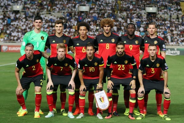 Belgia Football Team