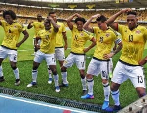 COLOMBIA Team Football 2018